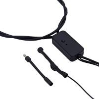 Микронаушник Nano Plus Deluxe (выведенный микрофон + кнопка-пищалка)