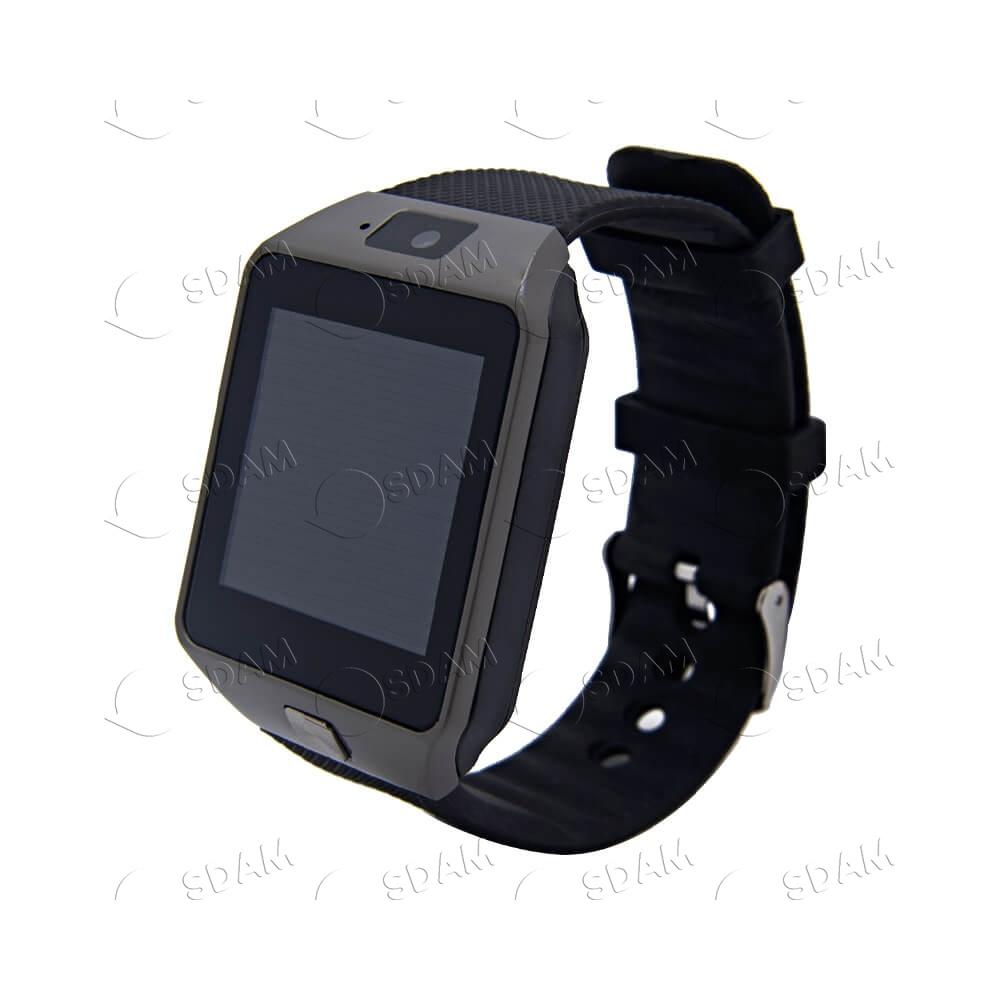 Смарт часы DZ09 (чёрные) - 2