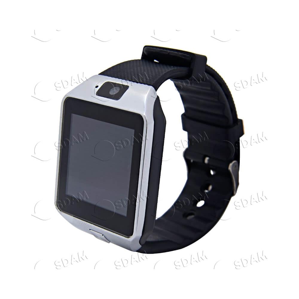 Смарт часы DZ09 (серебряные) - 2