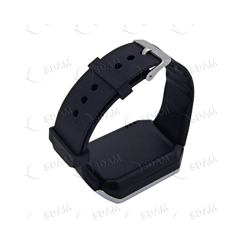 Смарт часы DZ09 (серебряные) - 3