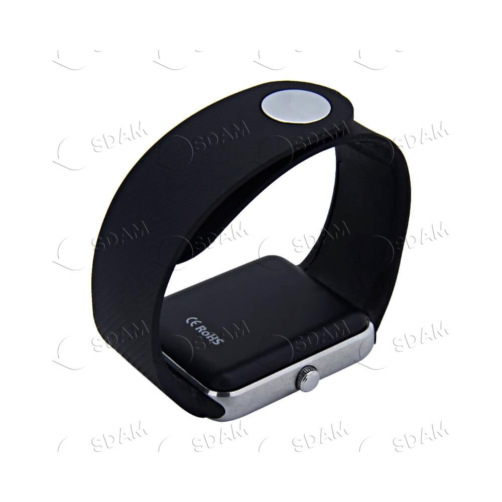 Смарт часы GT08 (серебряные) - 4